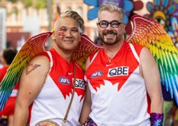 21 awesome images from Sydney Gay and Lesbian Mardi Gras