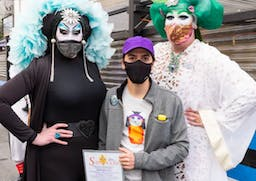 New street art in San Francisco honors the Sisters of Perpetual Indulgence