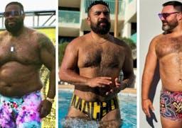 Five swimwear brands for bigger men and bears