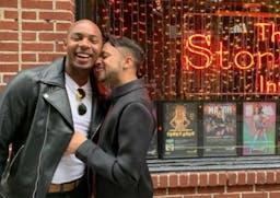 New York's Stonewall Inn celebrates the family of LGBTQ Pride Flags